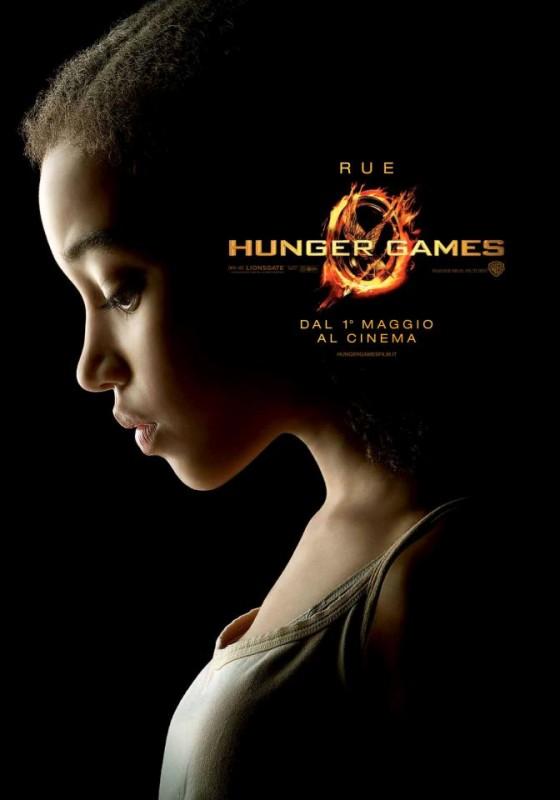 Hunger Games: character poster italiano per Rue/Amandla Stenberg