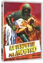 La copertina di La vendetta del mostro (dvd)