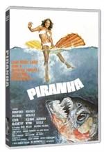 La copertina di Piranha (dvd)