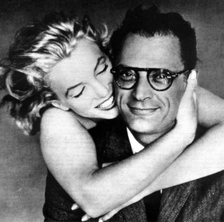 Marilyn Monroe e Arthur Miller fotografati da Richard Avedon