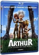 La copertina di Arthur e la guerra dei due mondi (blu-ray)