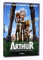 La copertina di Arthur e la guerra dei due mondi (dvd)