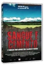 La copertina di Sangue e cemento (dvd)