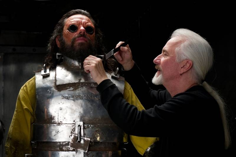 Men in Black 3: il make up artist Rick Baker sul set del film