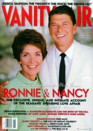 I Reagan su una cover di Vanity Fair