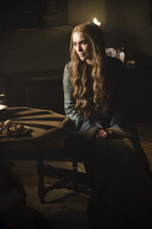 Game of Thrones: Lena Headey in una scena della stagione 2