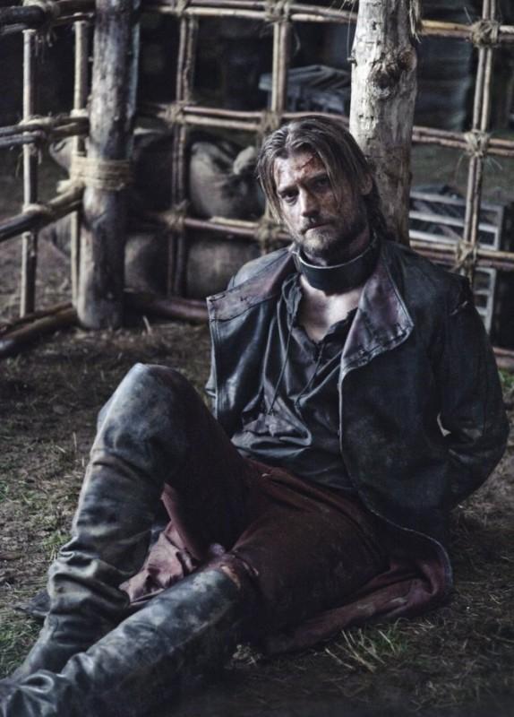 Game of Thrones: Nikolaj Coster-Waldau in una scena della stagione 2