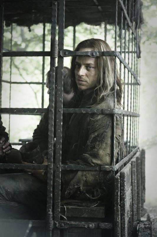 Game of Thrones: Tom Wlaschiha in una scena della stagione 2