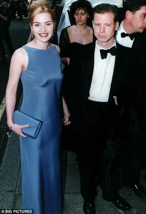 Kate Winslet con il suo ex-fidanzato Stephen Tredre ad un evento