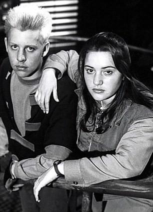 Kate Winslet con il suo ex-fidanzato Stephen Tredre, scomparso nel 1997