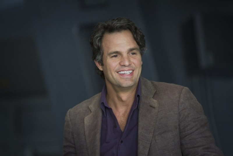 Mark Ruffalo è Bruce Banner (e a volte The Hulk) in una scena di The Avengers