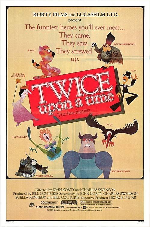 Twice Upon a Time: la locandina del film
