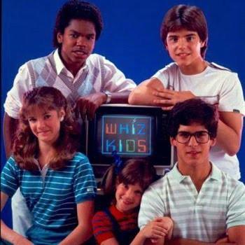Una foto promozionale de I ragazzi del computer (Wihz Kids)
