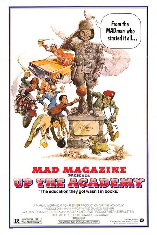 Up the Academy: la locandina del film