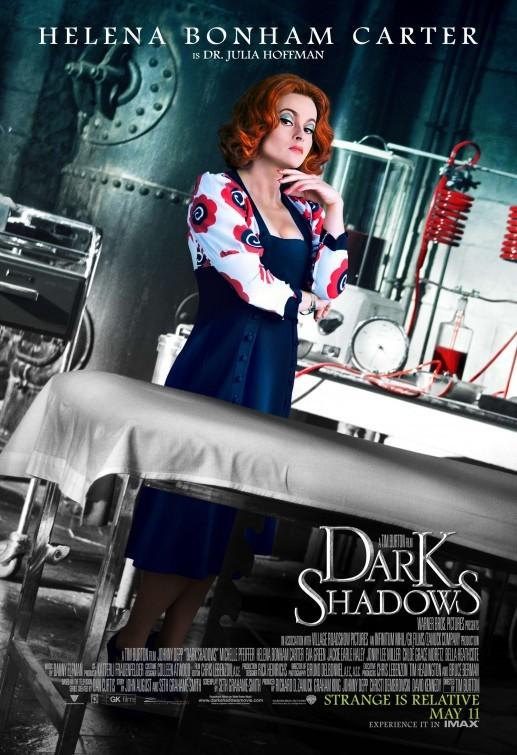 Character poster 2 di Helena Bonham Carter in Dark Shadows