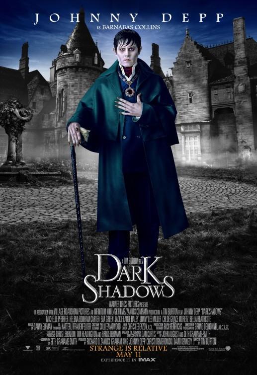 Character poster 2 di Johnny Depp in Dark Shadows