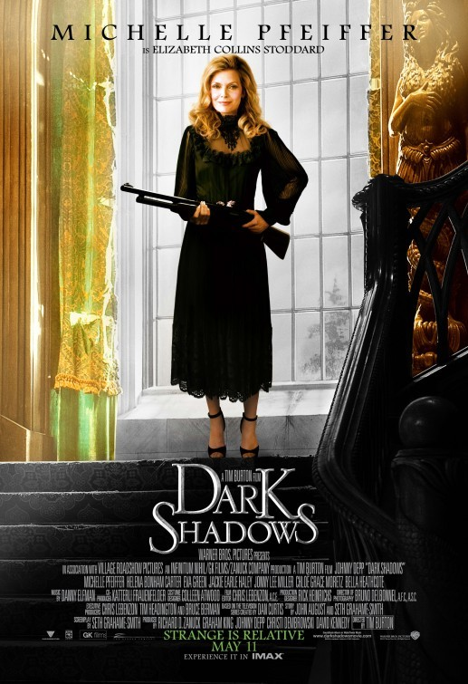 Character poster 2 di Michelle Pfeiffer in Dark Shadows