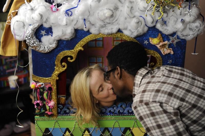 Chris Rock con Julie Delpy in una tenera immagine di Two Days in New York