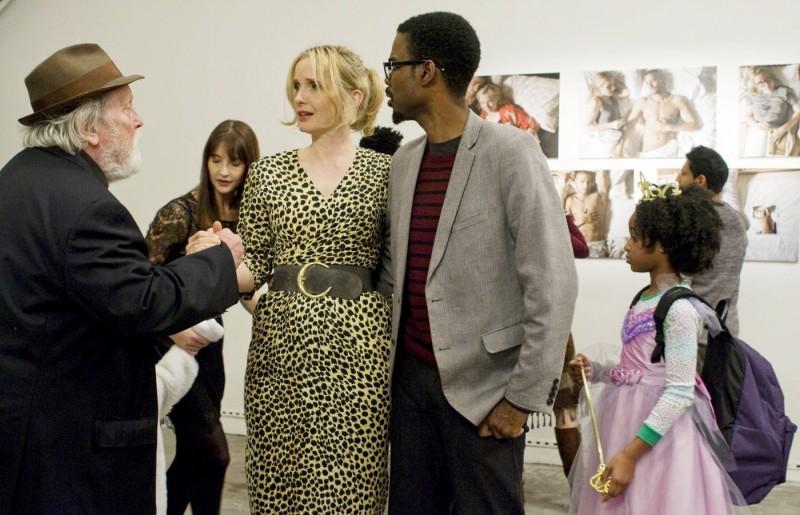 Chris Rock con Julie e Albert Delpy in 2 Days in New York