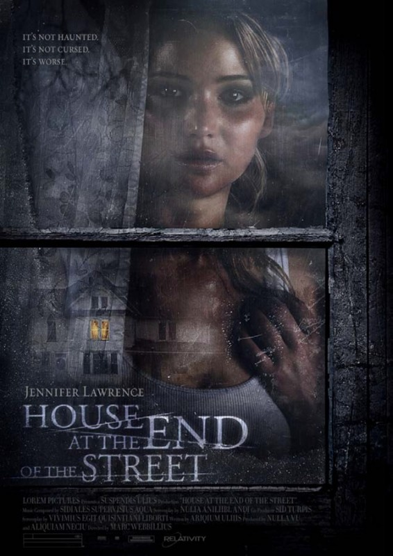 House at the End of the Street: ecco la locandina