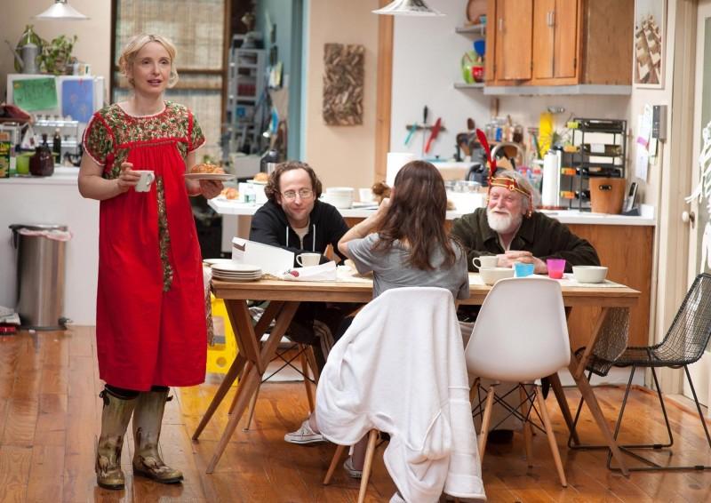Julie Delpy in Two Days in New York con Alexandre Nahon, Alexia Landeau e Albert Delpy