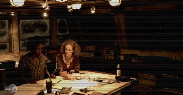 Leslie Hope nella serie tv The River (episodio Peaches)