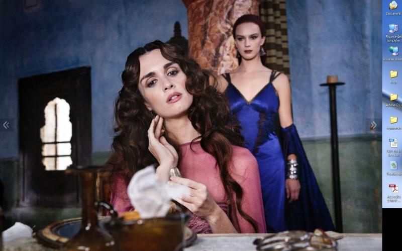 Paz Vega è  Maria Maddalena nella fiction Maria di Nazaret