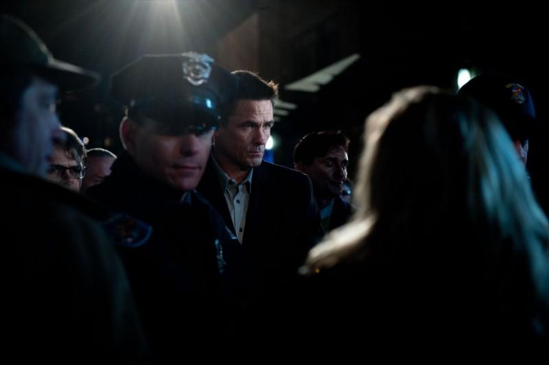 The Killing: Billy Campbell in una scena dell'episodio Reflections