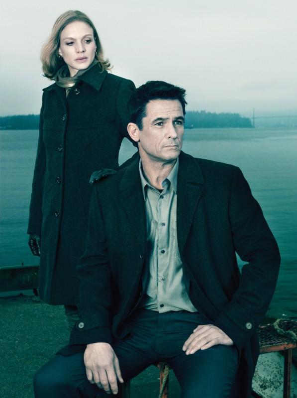 The Killing: Kristin Lehman e Billy Campbell in una immagine promozionale della stagione 2