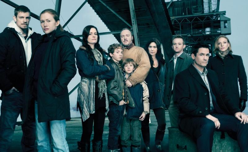 The Killing: una foto promozionale del cast della stagione 2