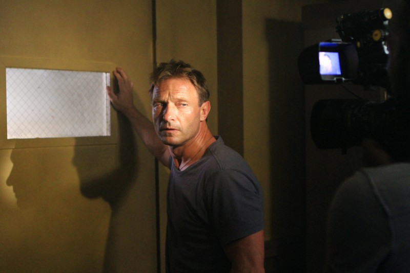 The River: Thomas Kretschmann in una scena (episodio The Experiment)