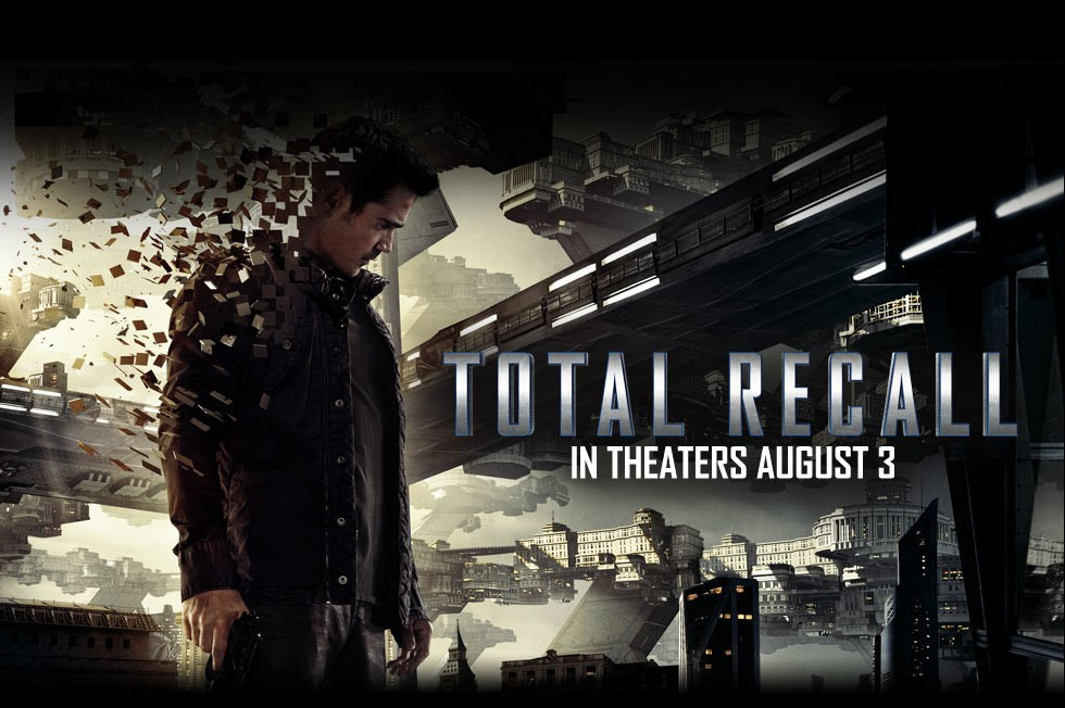 Total Recall: il wallpaper del film