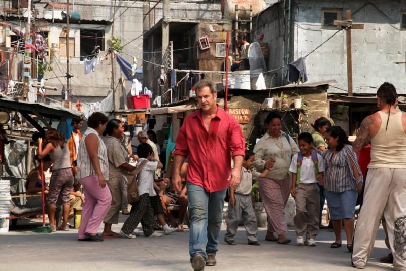Viaggio in paradiso: Mel Gibson in una scena del noir carcerario ambientato in Messico
