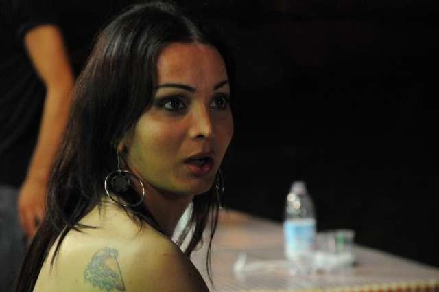 Amore liquido: la trans Ramona in una scena del film