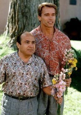 Arnold Schwarzenegger e Danny DeVito ne I Gemelli (1988)