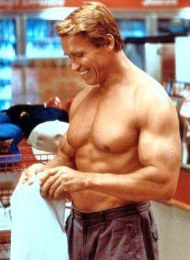 Arnold Schwarzenegger ne I Gemelli, commedia del 1988