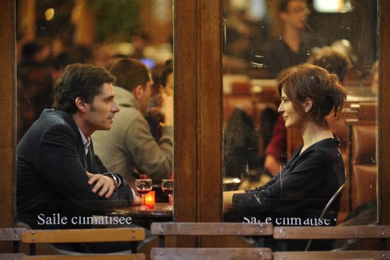 Ciliegine: Laura Morante in un romantico faccia a faccia con Pascal Elbé tratto dal film