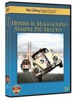 La copertina di Herbie il maggiolino sempre più matto (dvd)