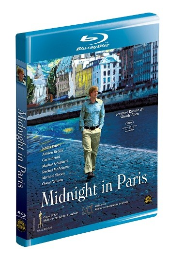 La copertina di Midnight in Paris (blu-ray)