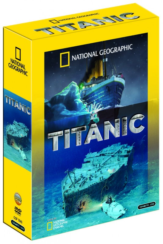 La copertina di Titanic - Cofanetto National Geographic (dvd)