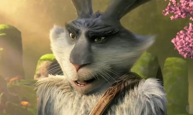 Le 5 leggende: il Coniglietto di Pasqua in una scena del film