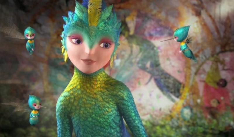 Le 5 leggende: la Fata del Dentino in una scena del nuovo film d'animazione della Dreamworks