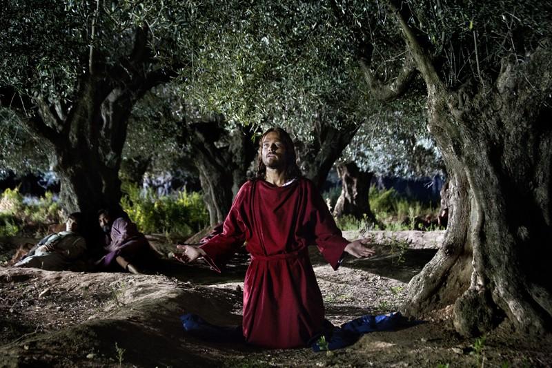 Maria di Nazareth: Andreas Pietschmann nell'Orto dei Getsemani