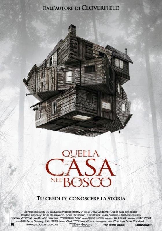 Quella casa nel bosco: locandina italiana