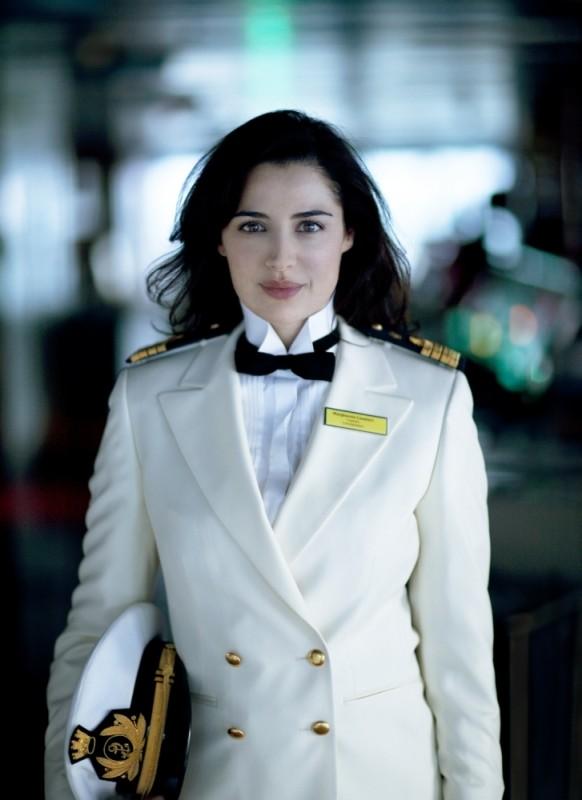 Benvenuti a bordo: Luisa Ranieri in una foto promozionale del film