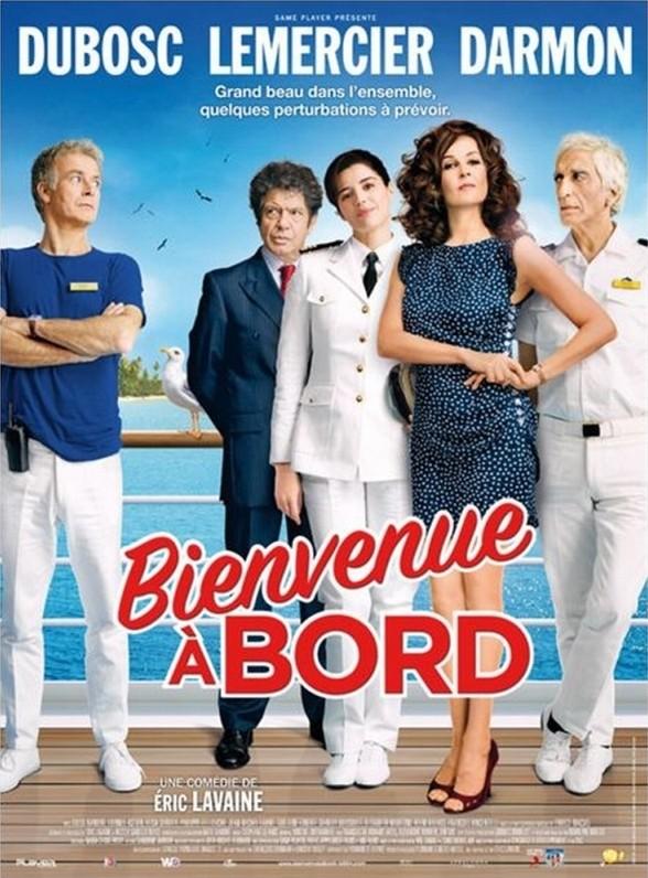 Benvenuti a bordo: una delle locandine francesi del film