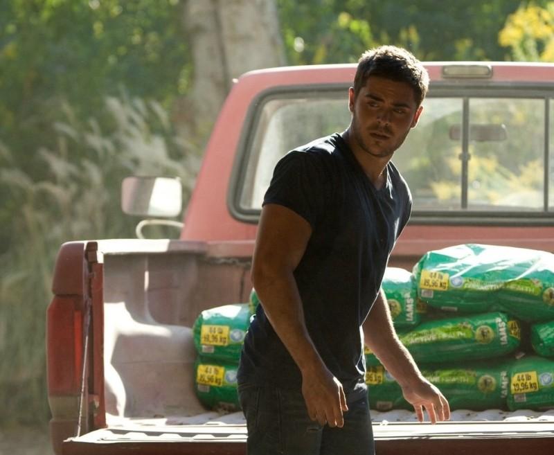Ho cercato il tuo nome: Zac Efron in una scena del film