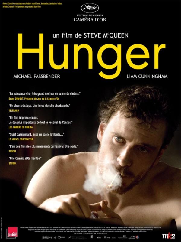 Hunger: la locandina francese del film