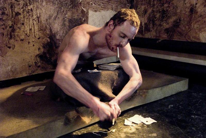 Hunger: Michael Fassbender in una scena del film diretto da Steve McQueen