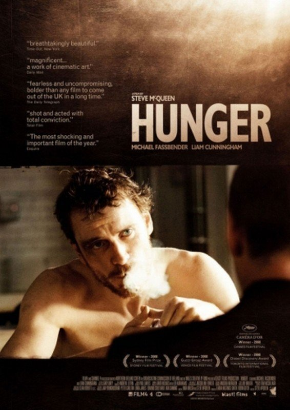 Hunger: un poster inglese del film